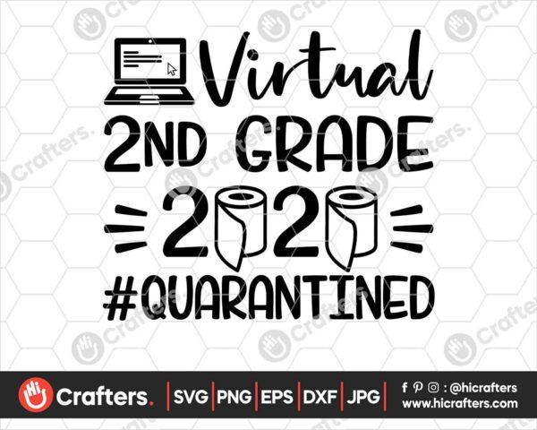 500 Virtual 2nd Grade SVG Virtual Learning SVG PNG