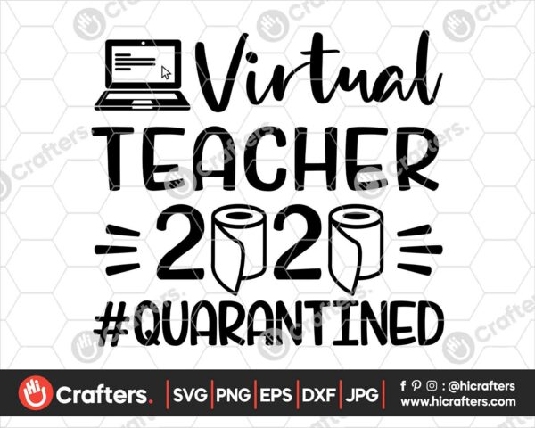 505 Virtual Teacher SVG Virtual Learning SVG PNG