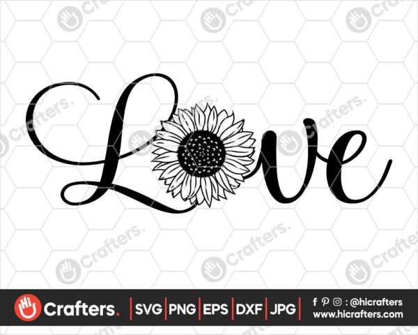 521 Love with Sunflower SVG Sunflower Shirt SVG PNG