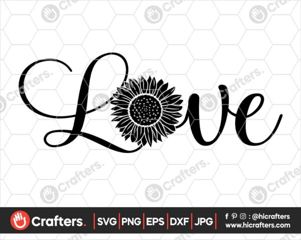 523 Sunflower SVG Sunflower Clipart SVG PNG