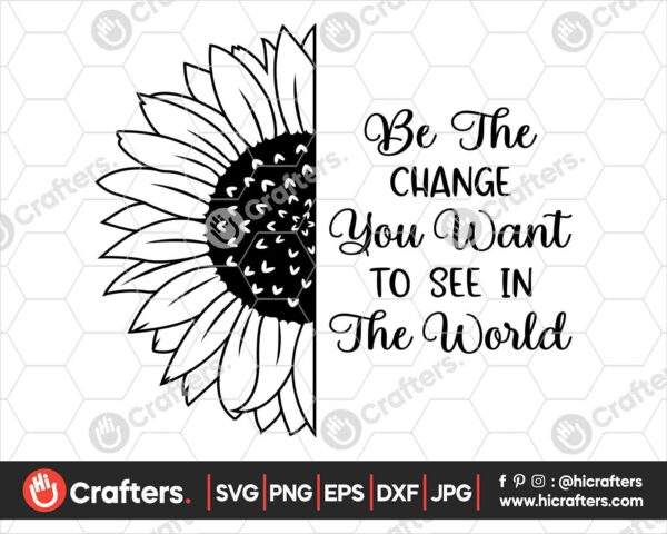526 be the change you want to see in the world svg