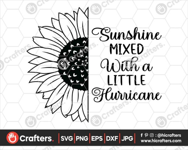 527 Sunshine mixed with a little hurricane SVG PNG