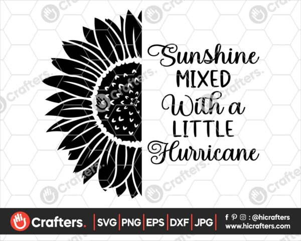 531 Sunflower Quotes SVG For Cricut and Silhouette