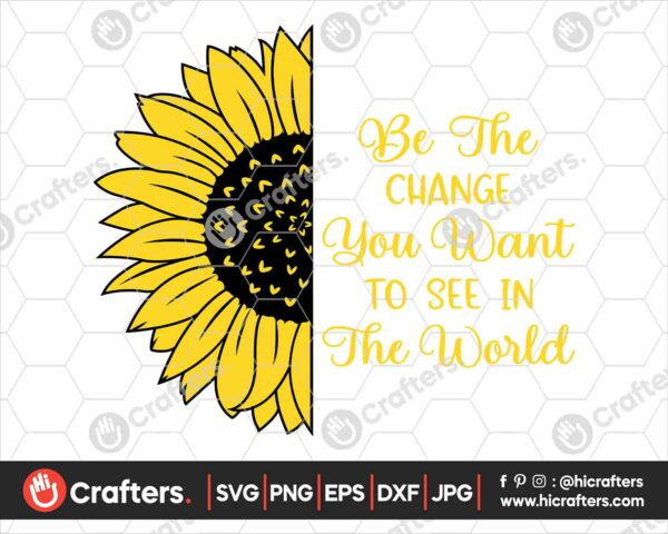 535 Sunflower Saying SVG PNG