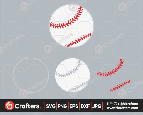 541 baseball svg baseball laces svg png